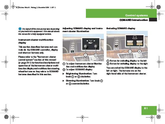 mercedes benz comand navigation system manual