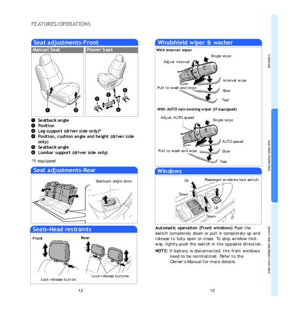2008 Toyota Avalon Service Manual