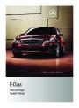 2011 Mercedes-Benz E350 E350 BlueTEC E550 E63 AMG W212 C207 Sedan Owners Manual page 1