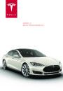 2014 Tesla Model S Betriebsanleitung German page 1