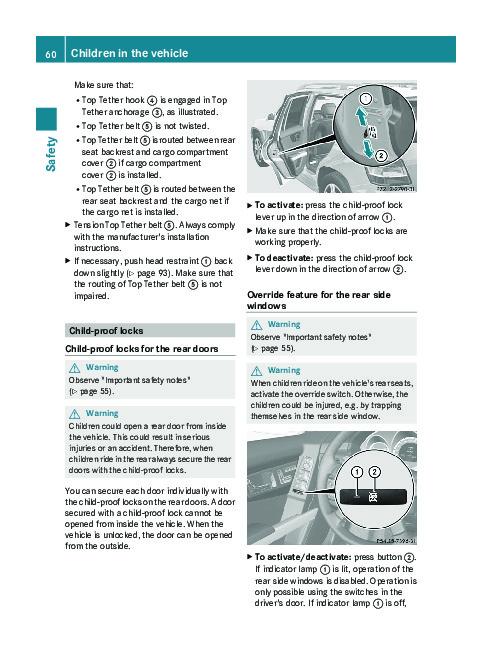 Mercedes benz gl450 operators manual pdf download autos post for Mercedes benz user manual