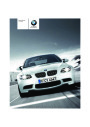 2008 BMW 3-Series M3 E92 E93 Owners Manual page 1